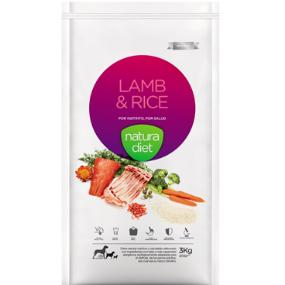 Natura diet lamb & rice