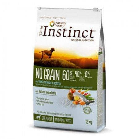 true instinct no grain salmon