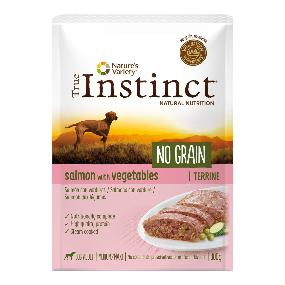 true instinct no grain salmon 300gr. paté