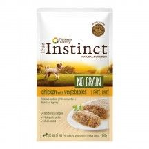 true instinct adult mini chicken 150gr. paté
