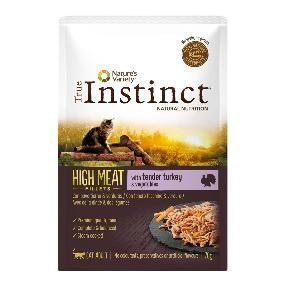 true instinct high meat turkey 70gr. fillets