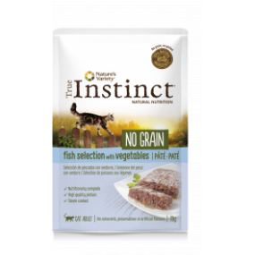 true instinct fish selection 70gr. paté