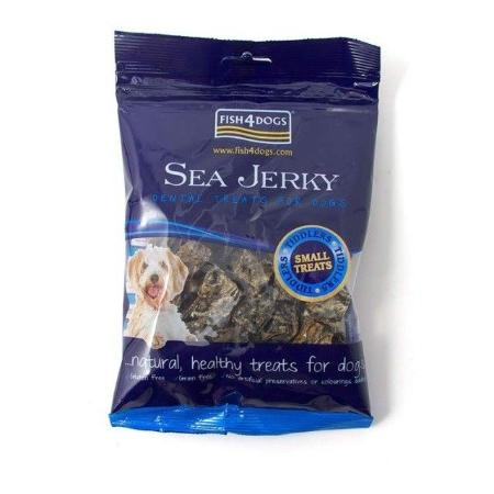 sea jerkys tiddlers fish4dogs 100gr.