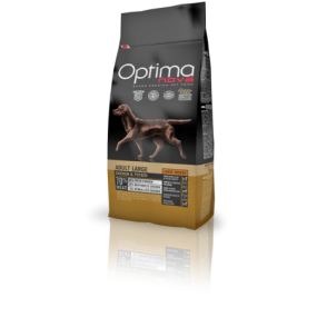 optima nova adult large chicken & potato