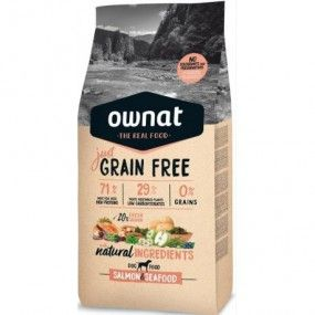 ownat just grain free salmon & seafood