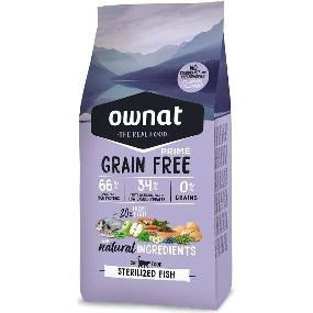 ownat prime grain free sterilized fish