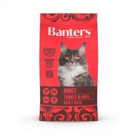 banters gato adult turkey & rice