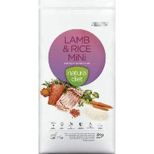 natura diet lamb & rice mini