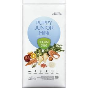 natura diet puppy junior & mini