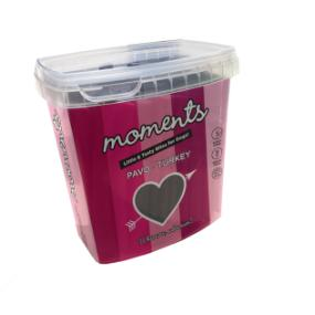 Moments barritas Pavo 600 gr