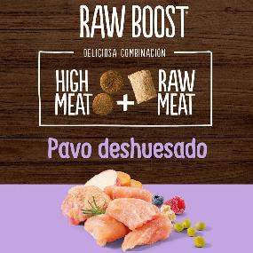 True Instinct Raw Boost Adult Pavo Perros