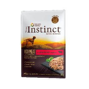 True Instinct High Meat Medium/Maxi Filetes Buey & verduras 300 gr